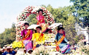 Chiang Mai, festival das flores