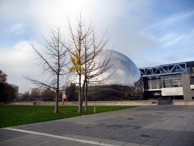 Cité des Sciences em Paris , La Géode