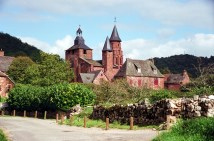 Collonges, la Rouge, no Limousin
