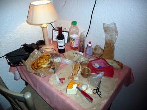 Comer no hotel