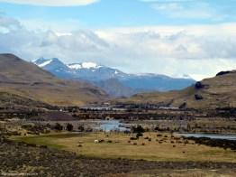 Estrada para Torres del Paine, Patagônia
