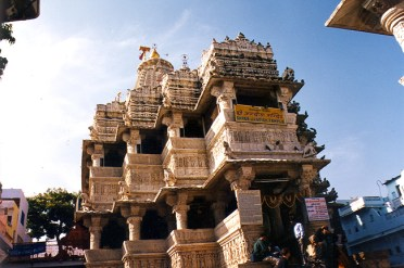 Jagdish Temple em Jaipur, Índia