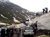 O perigo de avalanches de neve no extremo-norte