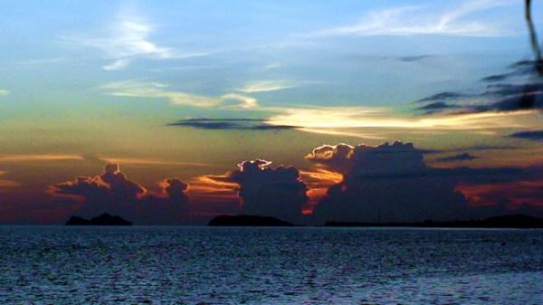 Poneten no litoral da Tailândia