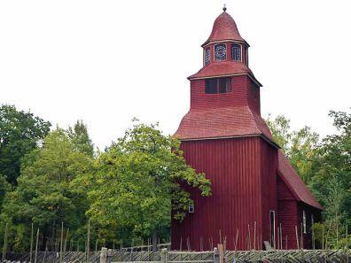 Suécia, Igreja rural - Foto Manual do Turista