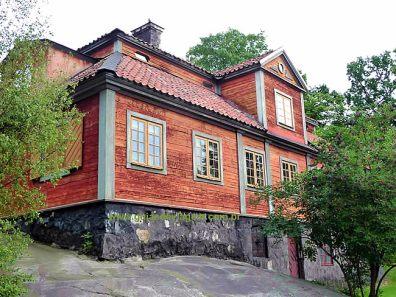 Suécia, antiga casa de fazenda - Foto Manual do Turista