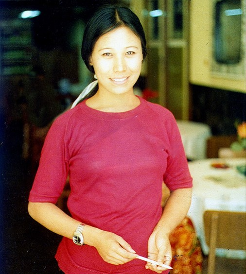 Tailandesa em Bangkok
