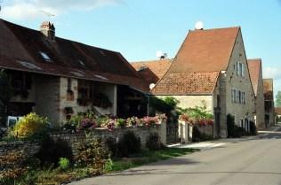 Aldeia na Borgonha