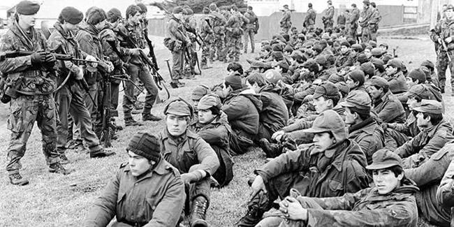 Guerra das Malvinas, prisioneiros argentinos