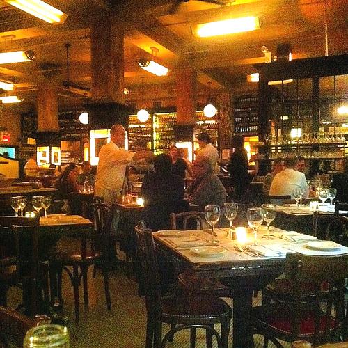 Restaurantes e cardápios em New York