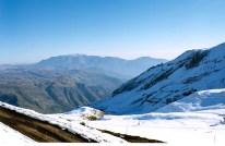 Estação de esqui, região de Santiago