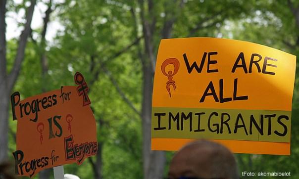 Imigrantes - Foto takomabibelot CCBY
