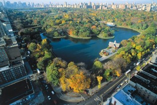 Central Park aerial view