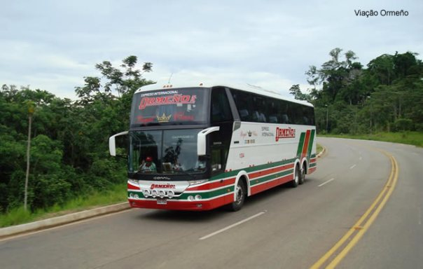 Onibus Peru Viação Ormeño