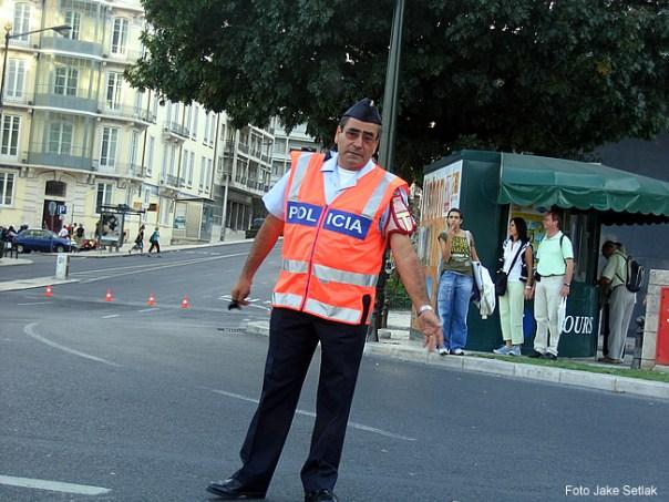 Polícia portuguesa - foto Jake Setlak CCBY