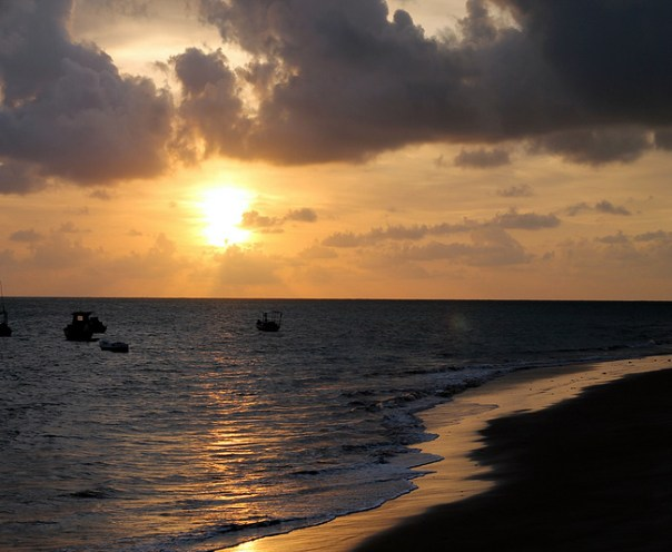 Praia de Tambaú, João Pessoa - Foto Alexandre Imamura CCBY