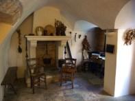 Interior de um trulli