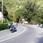 Estrada na Costa Amalfitana: cuidado com as motos aos domingos!