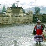 Cidade de Chivay, Valle del Colca, Peru