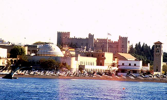 Cidade Velha em Rodes, Grécia