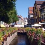 Primavera na Alsácia, França