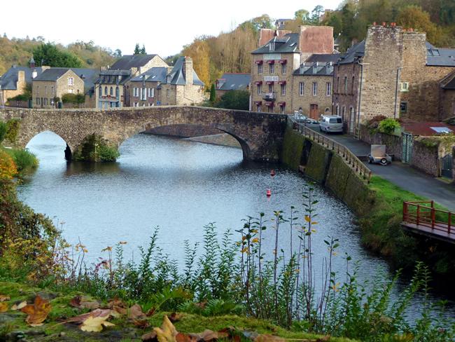 França, Bretanha, Dinan em novembro