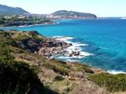 França, Córsega, litoral em novembro