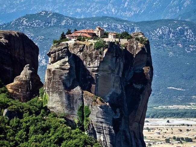 Grécia, mosteiro de Meteoros, foto-papisc-ccby