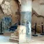 Interior de uma residência, em Herculano, Itália
