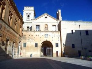 Lecce, o centro histórico