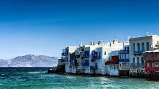 Little Venice, em Mykonos, Grecia, foto de Joe de Sousa- ccby