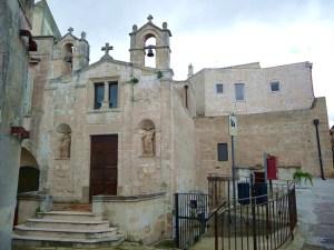 Igreja na região dos sassi