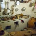 Matera, Itália, interior de um sassi