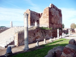 ermas em Ostia Antica, Itália