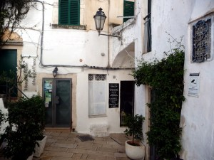 Centro antigo de Ostuni, Itália