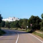 Ostuni, Itália, vista da estrada