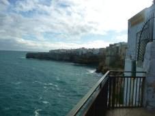 Polignano al Mare, uma península sobre o Adriático