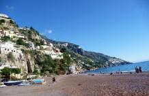Praia em Positano, Costa Amalfitana