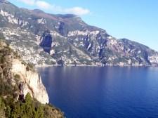 Estrada de Positano a Amalfi