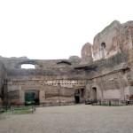 Roma, Itália, Termas de Caracala