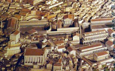 Reconstiuição, Roma no seu apogeu