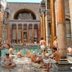 Roma, reconstituição das Termas de Caracala