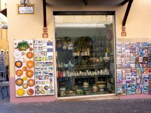 As famosas cerâmicas de Sorrento