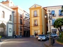 O elegante centro de Sorrento