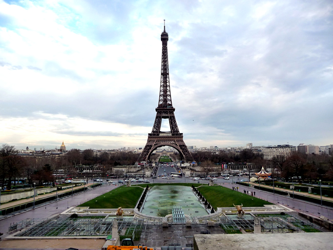 Tour Eiffel vista do Trocadéro