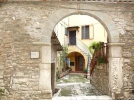 Venosa, ruas de traçado medieval