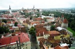 A cidade de Tallin, Estônia, Europa Oriental