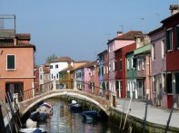 Ponte em Murano, Veneza, Itália
