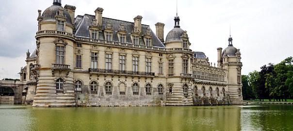 Castelo de Chantilly, foto Hervé CCBYSA