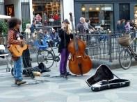 Dinamarca, Kopenhage, músicos de rua